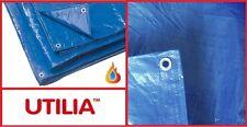 teli occhiellati in polietilene Utilia ideali per copertura auto gazebo BLU 3x5