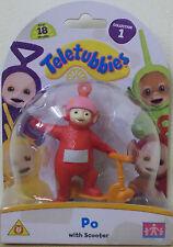 Teletubbies ~ po Con Scooter ~ Coleccionable 8 Cm Figura