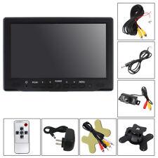 7'' TFT LCD Screen Car Rearview Monitor VGA/AV/HDMI+7 Lights Reverse Camera Kits