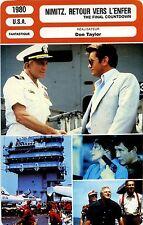 Movie Card. Fiche Cinéma. Nimitz, retour vers l'enfer (USA) Don Taylor 1980