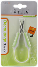 "Tonic Studios Kushgrip Scissors Decoupage 4.5"" 11.4cm No.550 Ergonomic Handle"