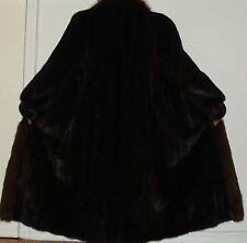 MAXIMILIAN BLOOMINGDALE'S Ranch Mink & Fox Fur Coat Size 8-10 Free Shipping