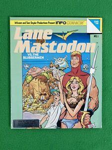 Lane Mastodon VS. The Blubbermen - Infocom - IBM PC DOS Floppy - Vintage - 1988