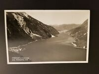 1938 Germany Austria Pertisau Achensee Scenic RPPC Real Picture Postcard  Cover