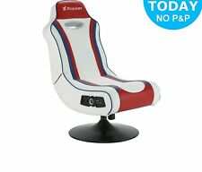 X-Rocker Esports Pro Gaming Chair - Red/White - OE99