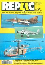 REPLIC 63 MIG-23MLD FLOGGER / SE.3130 ALOUETTE II HELO / Me410 HORNISSE WW2 LUFT