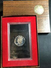 1973 S Eisenhower BU Deep Cameo Proof Ike Dollar US Coin Brown Pack 40% Silver