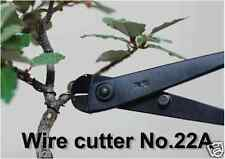 KANESHIN BONSAI TOOLS Most Popular Wire cutter Small #22A Length 180mm From Jpn