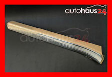 MERCEDES-BENZ W221 S-CLASS LEFT FRONT DOOR LOWER COVER RAIL SILL GENUINE BEIGE