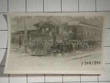 Red River Valley Railroad: Engine 6, Passenger Car, Depot: 1895 Train Photo