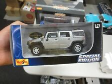 MAISTO 1/27 Diecast 2003 Hummer H2 SUV Special Edition (NEW IN BOX)