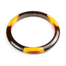 Belle Kogan ART DECO Bracelet, bakélite, États-Unis, 3 Dot Bangle, bakelite