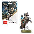 Amiibo Link Cavallo Rider Legend Zelda Breath Of The Wild NINTENDO SWITCH WII U