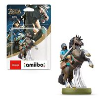 Amiibo Link Cavallo Rider Legend Zelda Breath Of The Wild NINTENDO SWITCH WII U