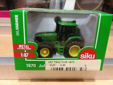 SIKU,escala 1:87,ref.1870,Tractor John  Deere