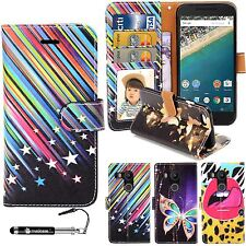 Madcase Print Design Diary Book Leather Wallet Case cover for Google LG Nexus 5X