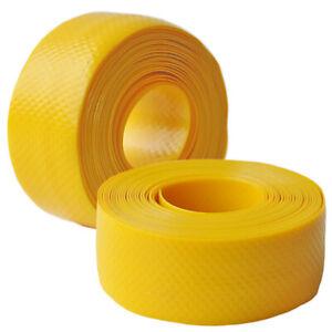 NOS Velox Yellow Dimpled Plastilac Handlebar Tape Vintage 1970's Eroica Benotto