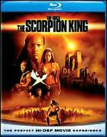 The Scorpion King  [Blu-ray] - Blu-ray By Dwayne 'The Rock' Johnson - VERY GOOD