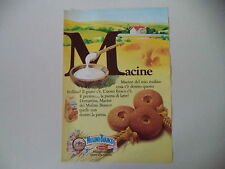 advertising Pubblicità 1980 MACINE MULINO BIANCO