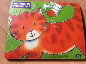 BBC Animal Hospital Animated Cat ...Mouse Mat, New Shop Clearance