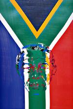 """LeRoy Neiman     """"President Nelson Mandela""""    1997     Serigraph on Paper"""