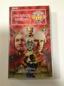 Doctor Who The King's Demon | VHS Tape