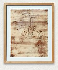 Julian Schnabel Etching & Aquatint print, signed Ed. 29/50, museum quality frame
