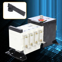 160A 4P Dual Power Automatic Transfer Switch For Generator Changeover 37V-440V