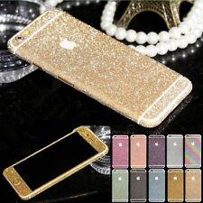 Entier Paillettes Bling Protection Autocollant Case Cover Skin pour iPhone &