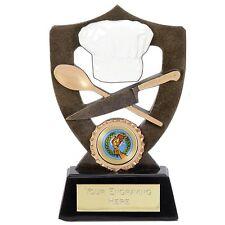 Bake off Cucina Catering Chef venire CENA CON ME TORTA CIBO RESINA TROPHY A902A