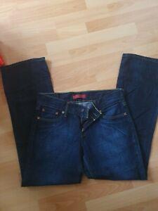 Levis Women Jeans - W30 L30 - 557 Straight Leg - Blue (2)