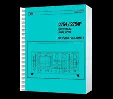 Tektronix 2754 Spectrum Analyzer Hi Resolution Paper Reprinted Service VOL1+ CD