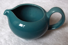 Russel Wright AQUA BLUE Iroquois Casual TURQUOISE restyled creamer~HTF-Clean-NR