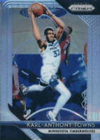 2018-19 Panini Prizm Prizms Silver #107 KARL-ANTHONY TOWNS Timberwolves