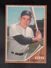 YOGI BERRA #360-New York Yankees Catcher Topps 1962 NmMt