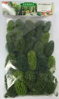 BNIB OO / HO BUSCH 6487 25 DECIDUOUS TREES WITH ROOTS - MODEL RAILWAY SCENERY