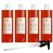 Prija Flüssigseife mit Ginseng 4x 380 ml Seife Soap Wellness Spa Flakon Kosmetik