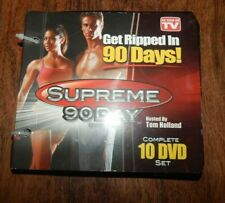 Get Ripped In 90 Days Supreme 90 Day System 10 DVD Set As Seen On TV Workout