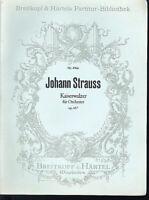 Johann Strauss ~ Kaiserwalzer für Orchester op. 437 ~ Partitur