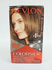 Revlon ColorSilk Beautiful Permanent Hair Color - #40 Medium Ash Brown Brand New