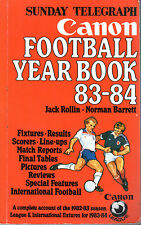 Sunday Telegraph Canon Football Yearbook 1983-84 - Jack Rollin (éditeur)