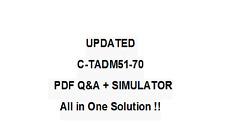 SAP CERTFIED TECHNOLOGY ASSOCIATE -SYSTEM ADMINISTRATION  Exam QA PDF&Simulator
