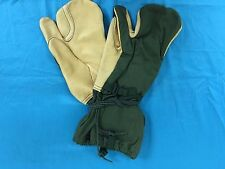 U.S. Military Army Mitten Shells Cold Weather Trigger Finger M-1965 Gloves Large