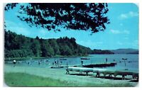 1950s/60s Camp Rondack for Girls, Schroon Lake, Pottersville, NY Postcard *5I4