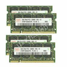 8GB 8G 4x 2GB/1GB de memoria RAM para computadora portátil DDR2-667MHz PC2-5300S Sodimm Para Hynix Lote