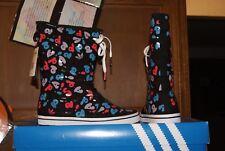 Womens ADidas ADI Honey Boot Boots Black White Sz 6 6.5 7 7.5 8