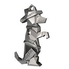 Hephis Keychain Bottle opener Adamancy Sam Dog Key Ring Silver Fashion Gift Cute