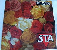 "5TA - Heaven / Kiss Me - Arista 12"" Single VTA 121"
