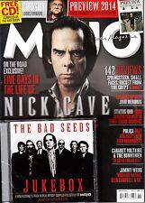 MOJO 2/2014 NICK CAVE + THE BAD SEEDS JUKEBOX CD @New@ ANNA CALVI Mark Lanegan