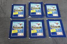 Edeka WWF Entdecke Brasilien 25 Tüten Neu und OVP 125 Sticker Karten